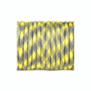 Паракорд Fibex Nylon Paracord 550 Type III (371 grey yellow)